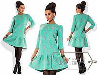 Платье 3Д-неопрен 103 (НР)