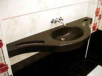 Раковина в ванную комнату в цвет столешницы