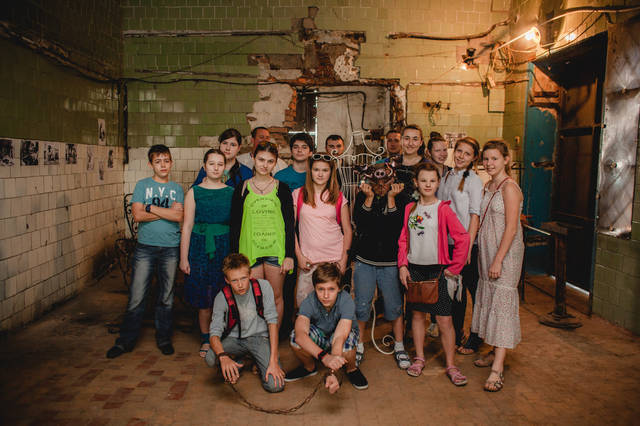 Экскурсия для детей в кузнечную мастерскую.