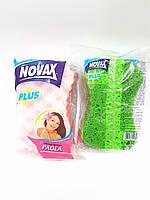 Губка банная массажная Novax Plus Paola