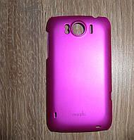 Чехол накладка HTC Sensation XL / G21 розовый