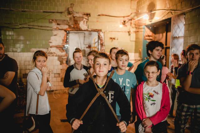 Экскурсия для детей в кузнечную мастерскую. 4