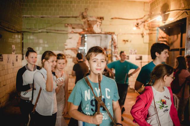 Экскурсия для детей в кузнечную мастерскую. 5
