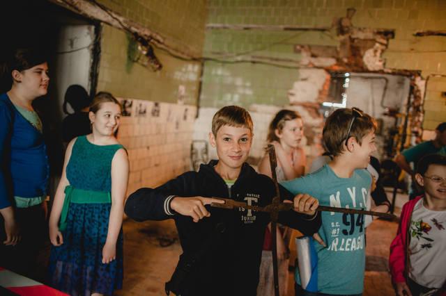 Экскурсия для детей в кузнечную мастерскую. 6