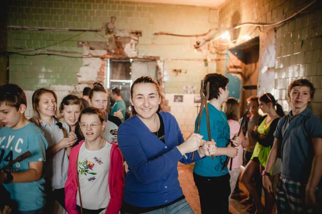 Экскурсия для детей в кузнечную мастерскую. 7