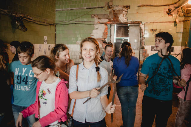 Экскурсия для детей в кузнечную мастерскую. 8