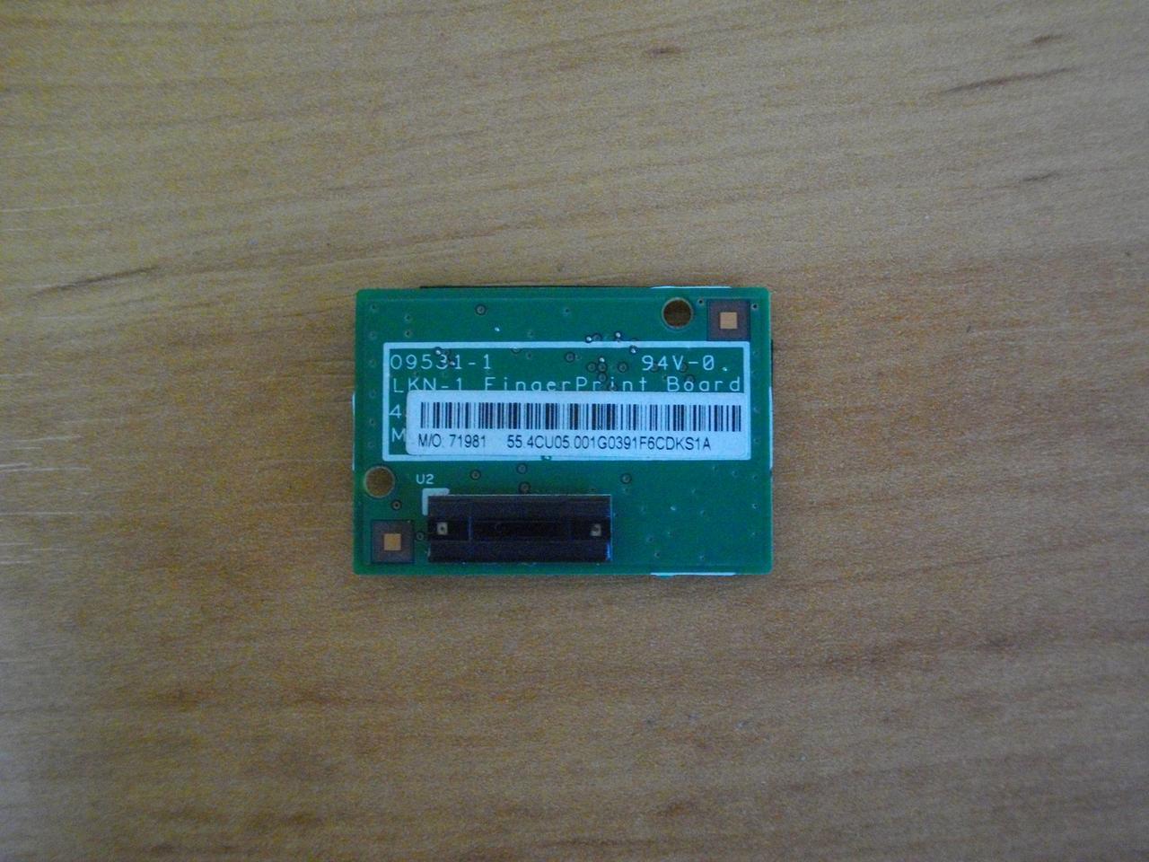 Датчик сканер отпечатка пальца Lenovo T510