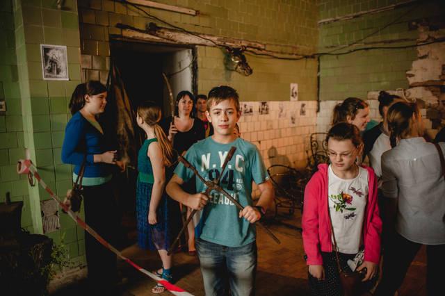 Экскурсия для детей в кузнечную мастерскую. 10