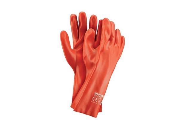 Перчатки с ПВХ / поливинилхлоридным покрытием