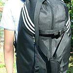 Сумка рюкзак дорожная Турист, реплика, 25*54*30, черный, фото 2