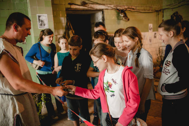 Экскурсия для детей в кузнечную мастерскую. 11