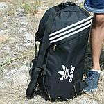 Сумка рюкзак дорожная Турист, реплика, 25*54*30, черный, фото 4