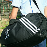 Сумка рюкзак дорожная Турист, реплика, 25*54*30, черный, фото 5