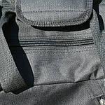 Сумка рюкзак дорожная Турист, реплика, 25*54*30, черный, фото 7