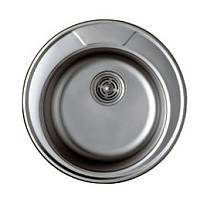 Мойка круглая Haiba 490-satih