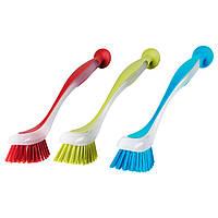 PLASTIS Щетка для мытья посуды, разные цвета