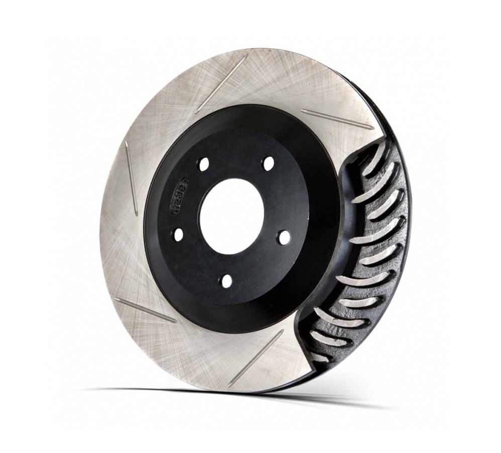 Диск тормозной сменный задний (левый) STOPTECH SLOT 380х32 для BBK LC200