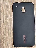 Чехол накладка HTC One mini черный