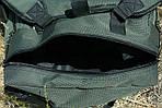 Рюкзак походный, 70*37*27 см, цвет хаки, фото 4