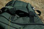 Рюкзак походный, 70*37*27 см, цвет хаки, фото 5