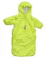 Курточка  и конверт  для девочек от рождения до года, фото 1