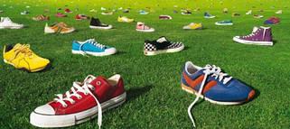 Кроссовки и ботинки известных мировых брендов