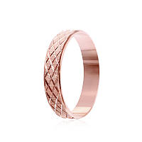 """Обручальное серебряное кольцо с позолотой """"806"""""""