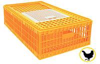 Ящик для перевезення живої птиці 970х580х270 мм однодверний, фото 1