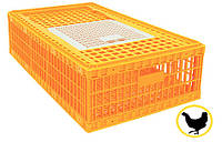 Ящик для перевозки живой птицы 770х580х270 мм однодверный