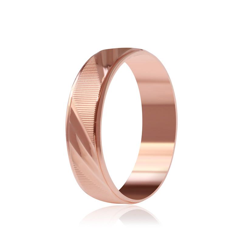 """Обручальное серебряное кольцо с позолотой """"810"""""""