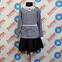 Школьная детская блузка для девочек оптом MARIATEX