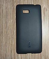 Чехол накладка HTC Desire 600 черный Cherry