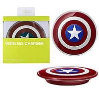 Беспроводное зарядное устройство wireless charger pad type (приемник Qi), фото 1