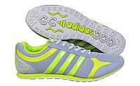 Мужские кроссовки Adidas F2013 02 M серый с салатовым
