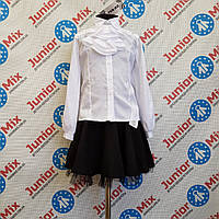 Школьная нарядная блузка для девочек оптом TERKO