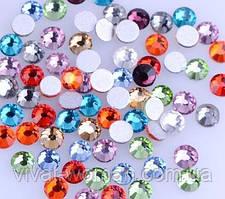 Стрази Mixed Colors SS6 холодної фіксації. Ціна вказана за 144 шт