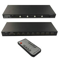 HDMI 4x4 порта матрица, сплиттер, коммутатор с прогр. упр. RS-232