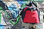 Сумка дорожная Алекс, 30*60*30 см,  красный, фото 8