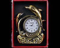 Запальничка подарункова з годинником Дельфіни №4373, фото 2