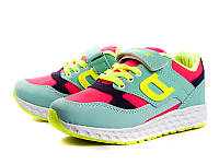 Детские кроссовки оптом. Детская спортивная обувь от поставщика Demur для девочек (рр. с 31 по 35)