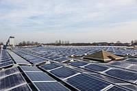 Потужна сонячна електростанція на дахах компанії