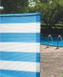 70% затеняющая сетка бело-голубая в рулонах 4х50 м