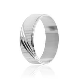 Серебряные родированные кольца (эффект белого золота)