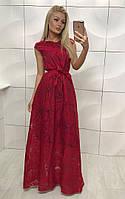 Красивое платье с органзы