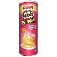Чипсы  Pringles Ham & Cheese Flavour , 165 гр