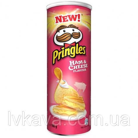 Чипсы  Pringles Ham & Cheese Flavour , 165 гр, фото 2