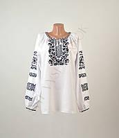 Жіноча вишиванка з машинною вишивкою недорого, фото 1