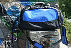Сумка дорожня Удача, 30*55*30 см, синій, фото 5