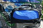 Сумка дорожня Удача, 30*55*30 см, синій, фото 2