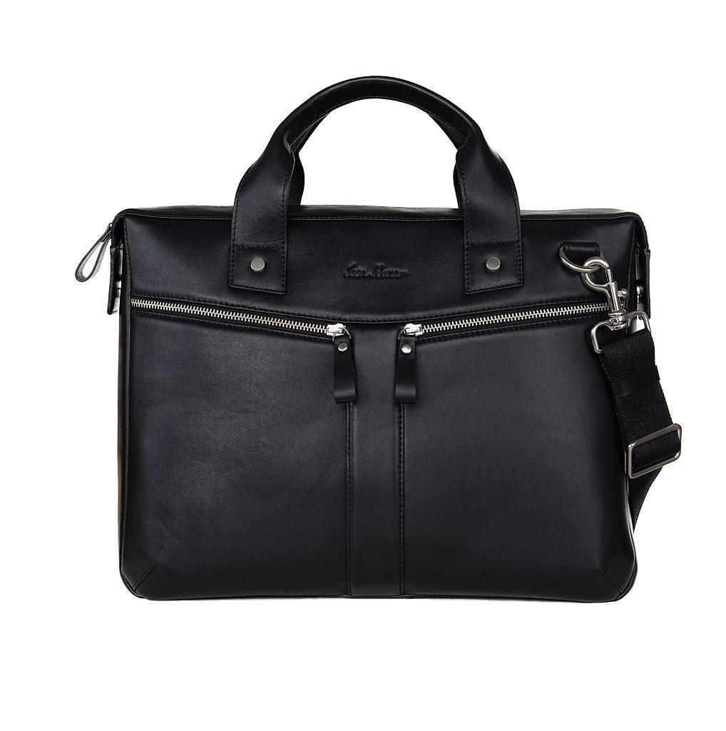 Кожаная сумка для ноутбука Issa Hara